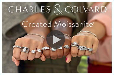 Charles and Colvard Moissanite Video